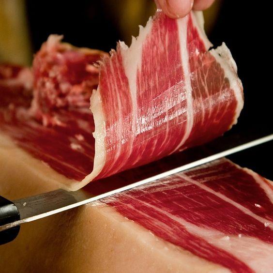 Spanish ham & sausage